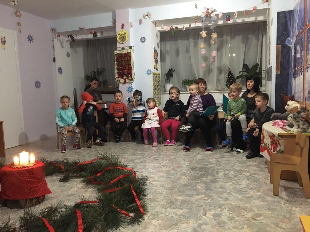 празднования Адвента в детсаде