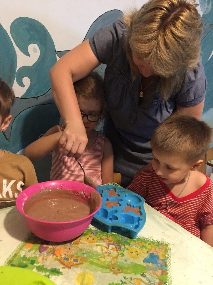 пченье и кексики с детьми
