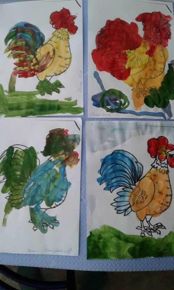 рисунок с детьми